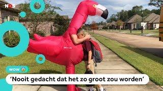 Broer van Max gaat viral met verkleedkleren