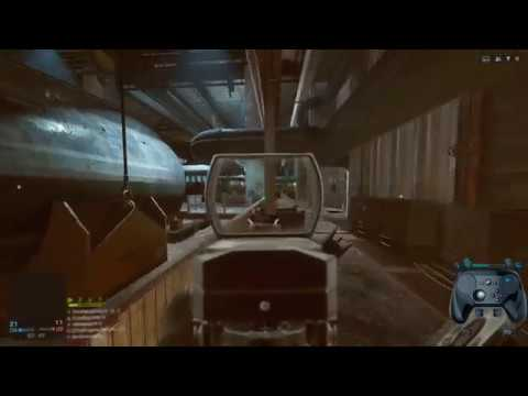 Multiplayer FPS With Steam Controller? (Battlefield 4 Hardcore Gameplay With Input Overlay)