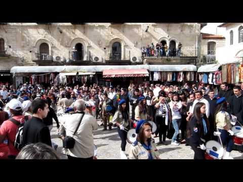Easter at Jerusalem Old City