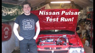 Nissan N13 Sunny Pulsar - Out for a test drive.  Matt's Vlog #25