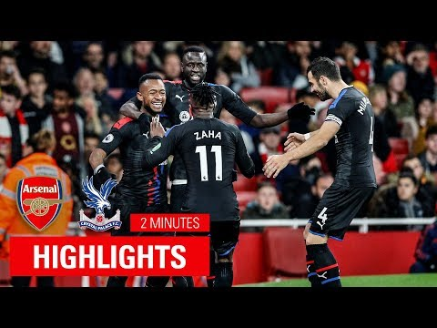 Arsenal 2-2 Crystal Palace | Match Highlights