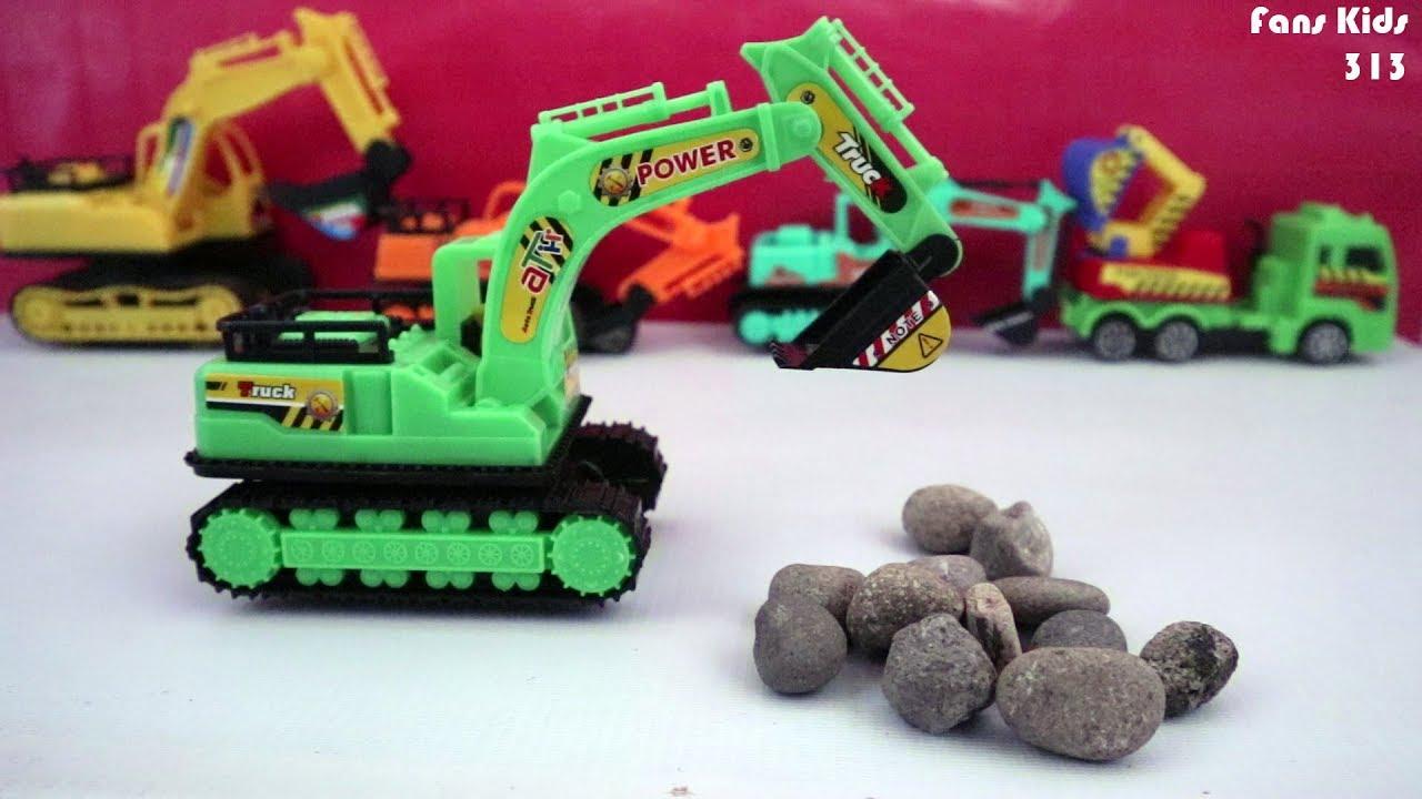 Buka Mainan Excavator Untuk Anak I Toys Excavator For Children YouTube