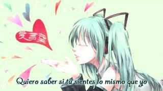 [Vocaloid3]Ai Kotoba - Miku[Español]