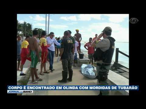 Corpo é encontrado em Olinda com mordidas de tubarão