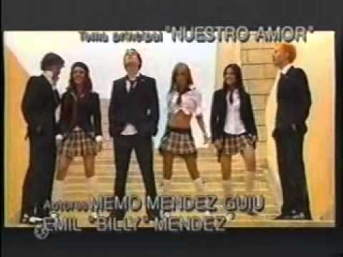 video clip rebelde nuestro amor: