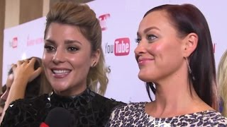 grace helbig mamrie hart reveal their almost x rated snapchat fiasco streamy awards 2016