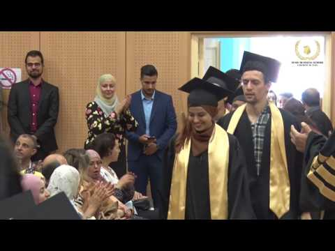 Tunis Business School graduation 2017