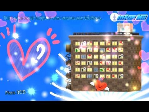 [Tomodachi Life]: Comment avoir toujours un coeur à une fenêtre