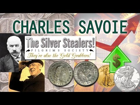 The Silver Suppression Scheme: US Government Names Revealed by Charles Savoie