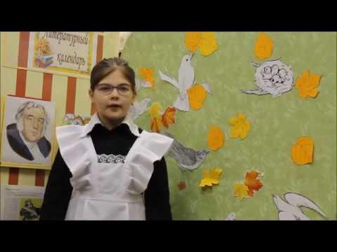 Изображение предпросмотра прочтения – УльянаБычкалова читает произведение «Добрая лисица» И.А.Крылова