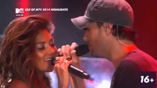 Repeat youtube video Enrique Iglesias and Nicole Scherzinger Heartbeat live from Isle of Mtv  HD 720p