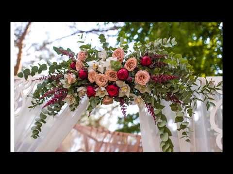 How To Make A Flower Swag For A Wedding Arch