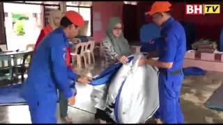 Mangsa banjir di Jasin kekal 42 orang