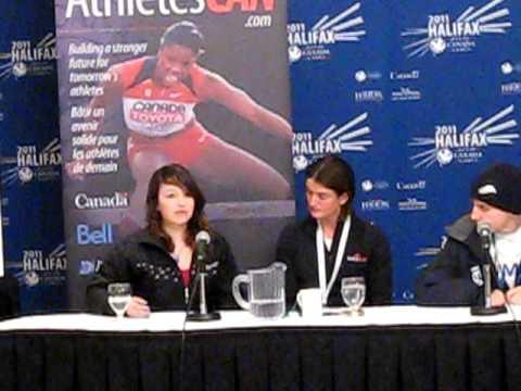 AthletesCan Press Conference featuring Team Alberta's Alex Starker