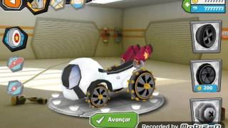 Formel cartoon all stars-gameplay-br