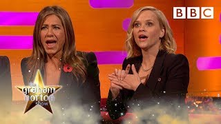 FRIENDS QUIZ: Jennifer Aniston VS Reese Witherspoon | The Graham Norton Show - BBC