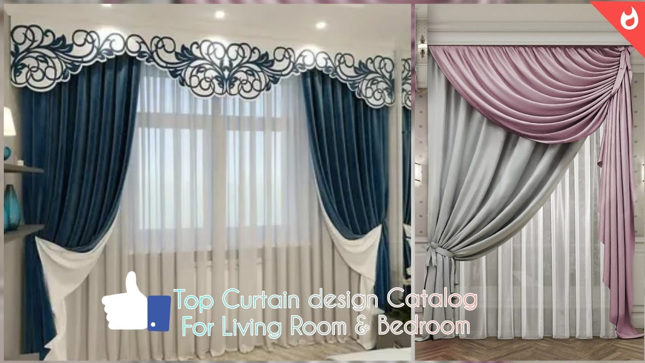 top 100 latest curtain design ideas 2021 for living room and bedroom