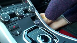 How to remove centre console from Range Rover Evoque 2012