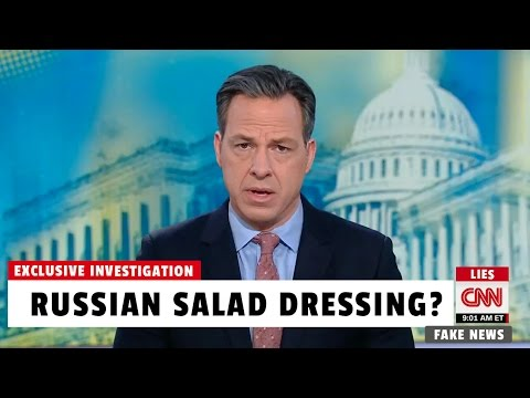 CNN Investigates Russian Salad Dressing