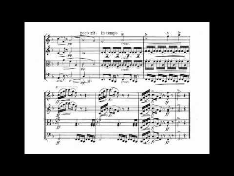 "Dvořák: String Quartet #12, ""American""."