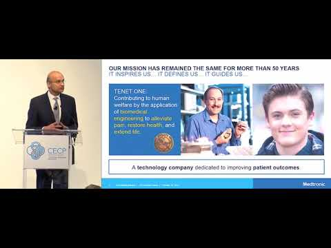 Omar Ishrak, Chairman & CEO, Medtronic Plc presents at the CEO Investor Forum, February 2018