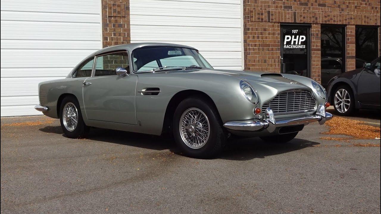 1966 Aston Martin Db5 In Silver Birch Paint Engine Sound On My Car