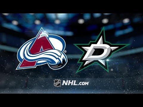 Colorado Avalanche Vs. Dallas Stars   NHL Game Recap   October 14, 2017   HD