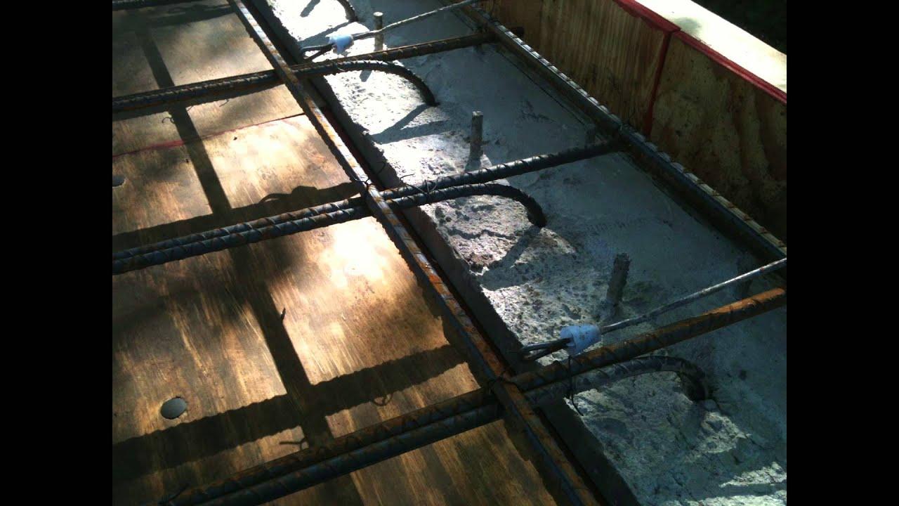 how to build a concrete safe room