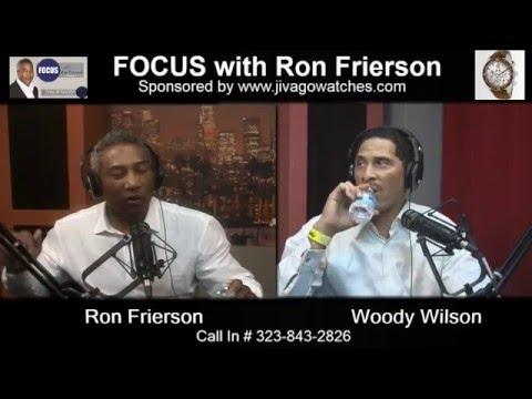 Bespoke Fashion Designer - Woody Wilson on FOCUS with Ron Frierson