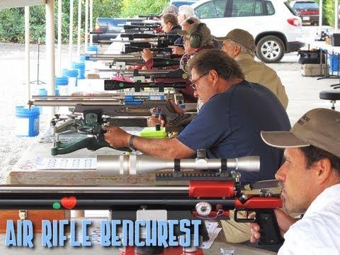 Air Rifle Benchrest SoCal Regional At Open Grove