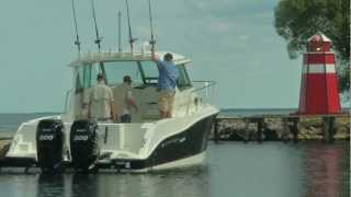 29 Foot Walkaround Fishing Boat by Striper Boats