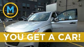 The Amazing Race Canada winners see their new car! | Your Morning