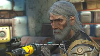 FALLOUT 4 STORY Persuade Paladin Brandis to Rejoin the Brotherhood  Charismatic Female 13