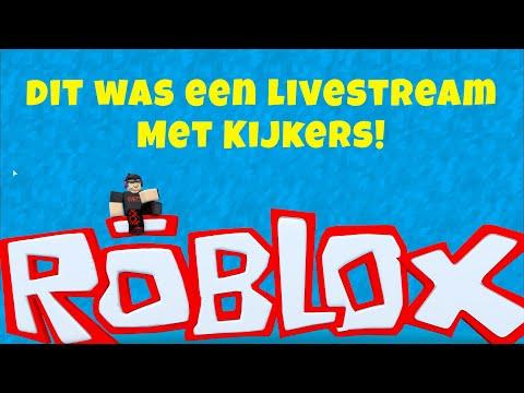 Ik speel Roblox met kijkers - Livestream
