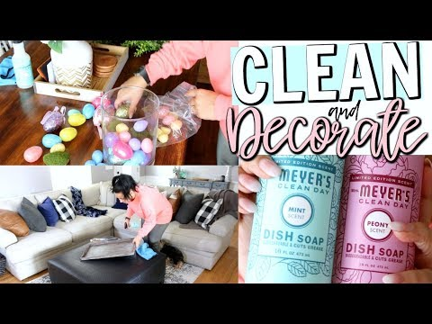 SPRING CLEAN & DECORATE WITH ME 2018 | CLEANING MOTIVATION | Page Danielle