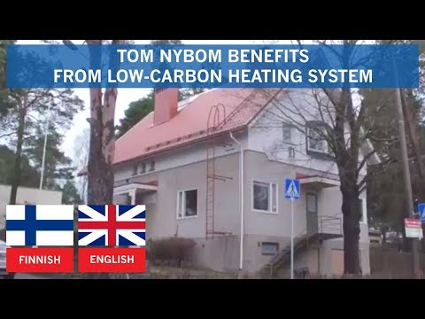 Tom Nybom benefits from Thermia low-carbon heating system