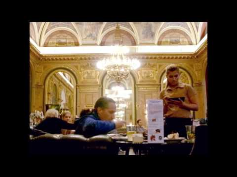 Alexandra Bookstore Cafe in Budapest