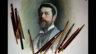 Как правильно рисовать портрет? Урок с Сергеем Гусевым.