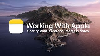 How To Add Emails and Documents to an Apple Note