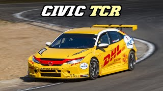 HONDA CIVIC FK TCR | Backfire, Fly-by's and Turbo sounds