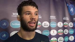 Thomas Gilman recaps his 2018 World Championships at 57 kg in men's freestyle