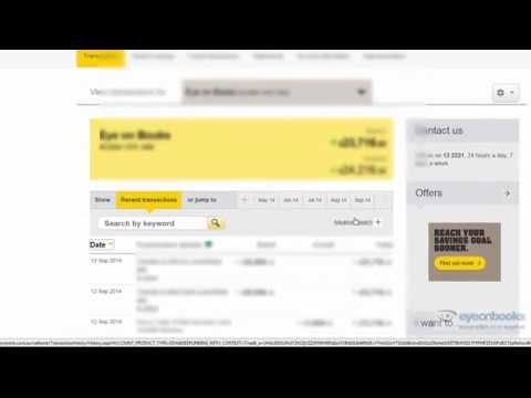 How to Export Commonwealth Bank transactions from Netbank for Xero