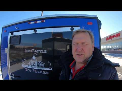 2020 Ice Castle 17' RV Toy Hauler Fish House