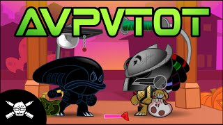 A.V.P.V.T.O.T. (Alien Vs Predator Vs Trick-Or-Treating) - A Halloween Short by James thumbnail