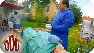 Die Operation im Garten