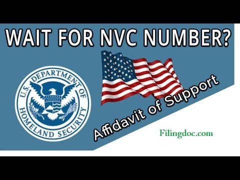 How To Send Your Affidavit Of Support Form I 864 To National Visa Center