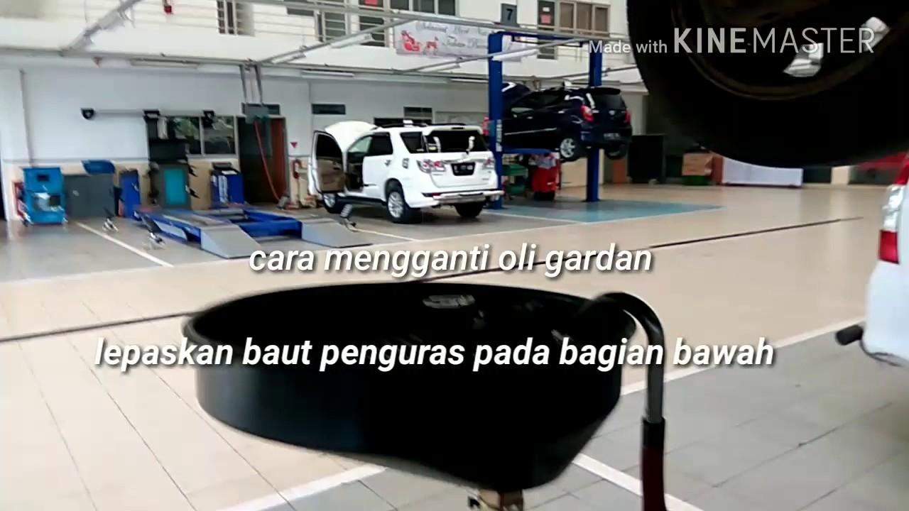 Oli Grand New Avanza Berapa Liter Kekurangan Veloz Cara Mengganti Gardan Axle Oil Change Toyota Youtube
