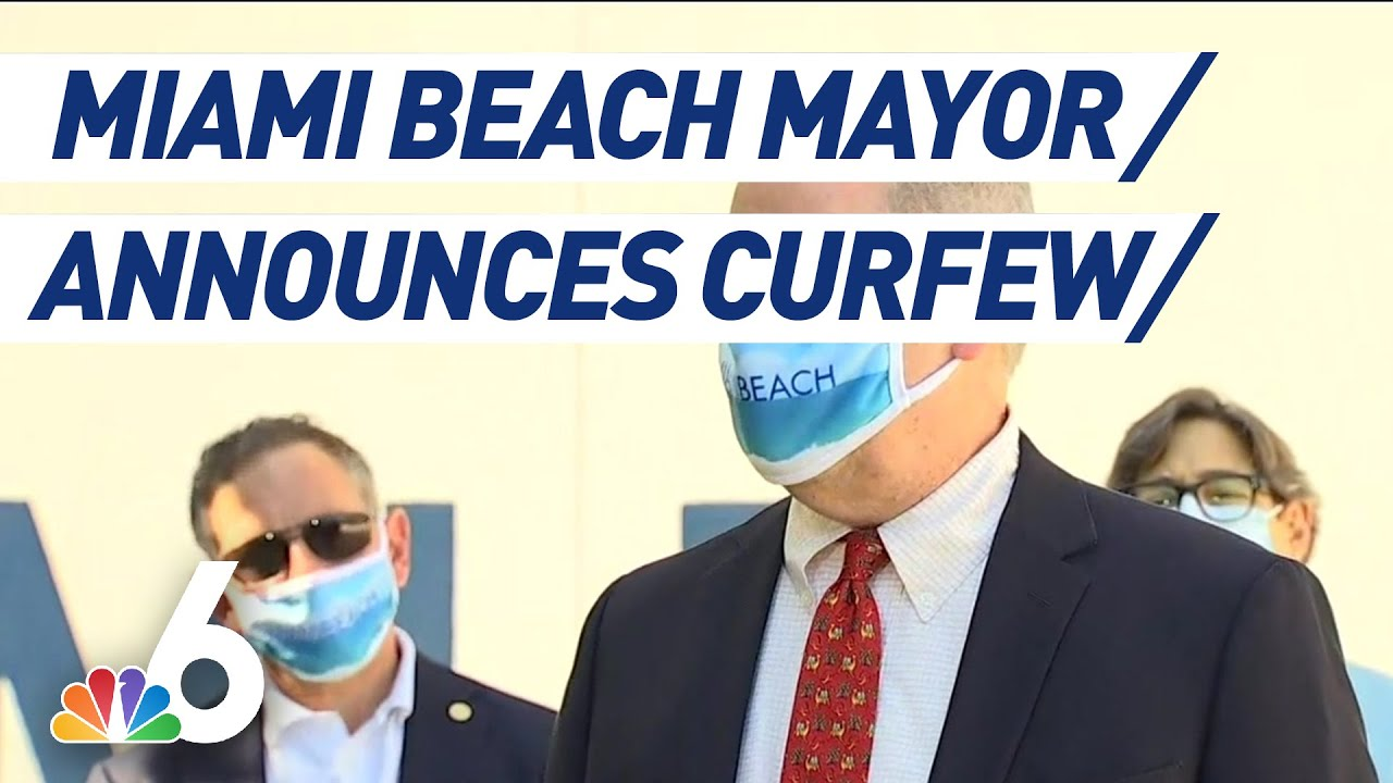 Miami Beach declares state of emergency and curfew as spring ...