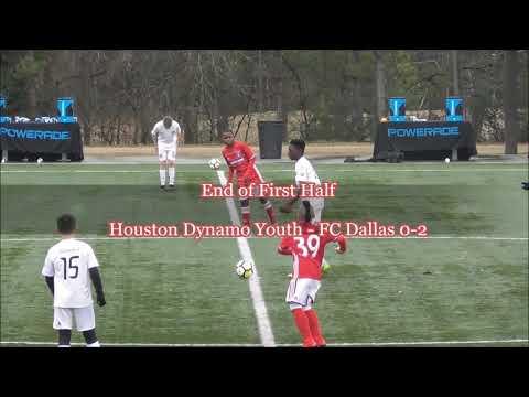 USSDA U13 Houston Dynamo Youth Academy Vs. FC Dallas Academy Highlights Feb 3 2018