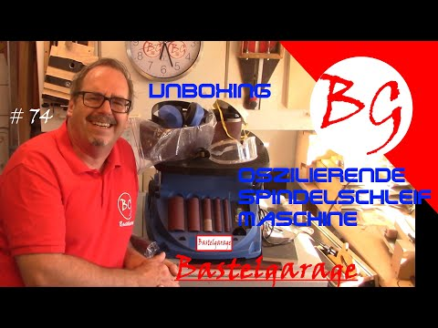 Unboxing Oszilierende Schleifmaschine